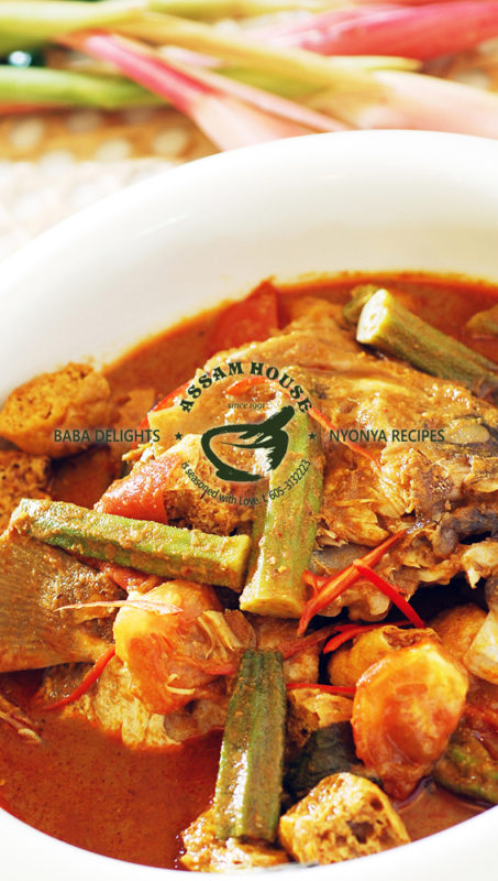 NYOBAS Curry Assam Grouper Fish Head
