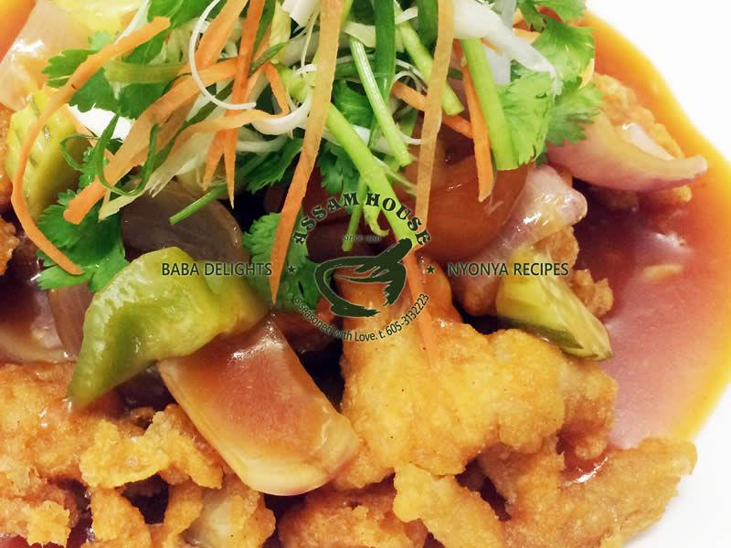 NYOBAS Sweet & Sour Crispy Chicken