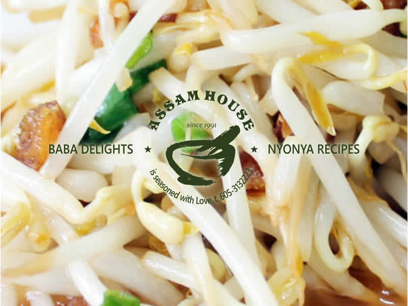 Fry Salted Fish Bean Sprout