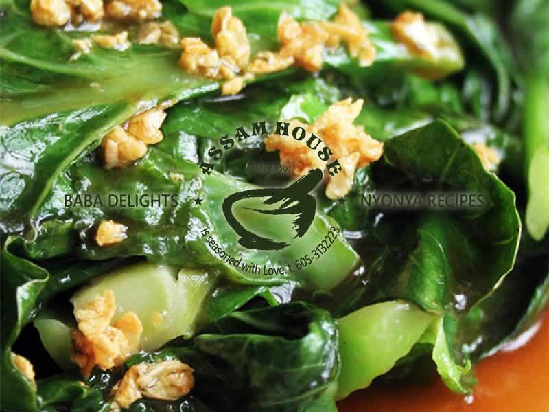 Garlic Soy Sauce Season Veggie