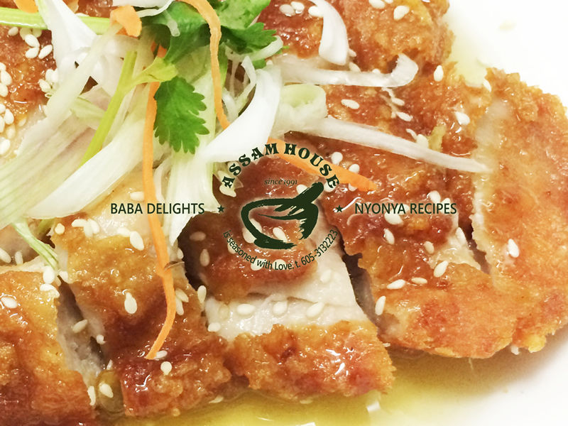 NYOBAS Crispy Lemon Chicken