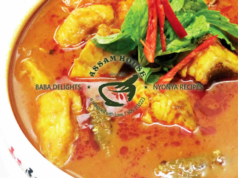 NYOBAS Curry Assam Grouper Fish Block