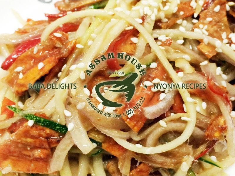 NYOBAS Kerabu Dried Squid