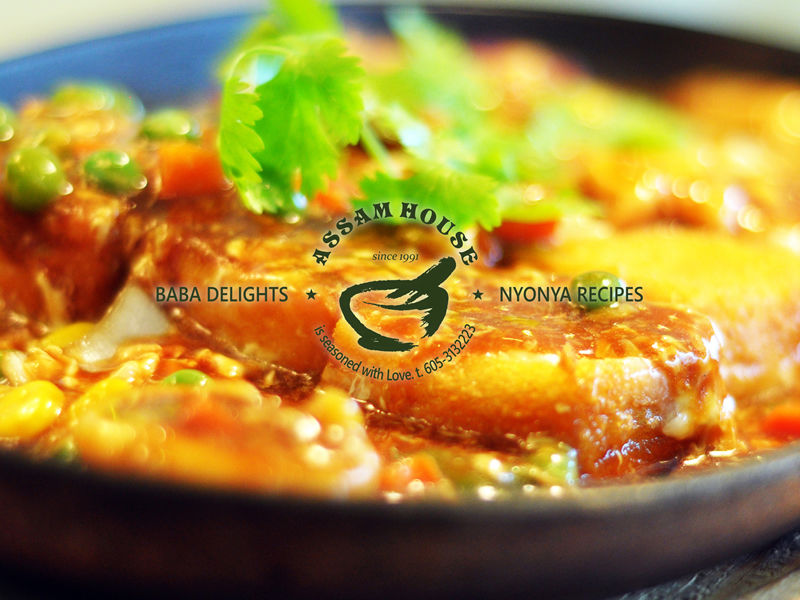 NYOBAS Sizzling Bean Curd