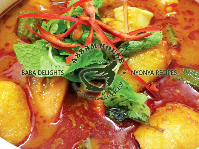 NYOBAS Curry Assam Seafood