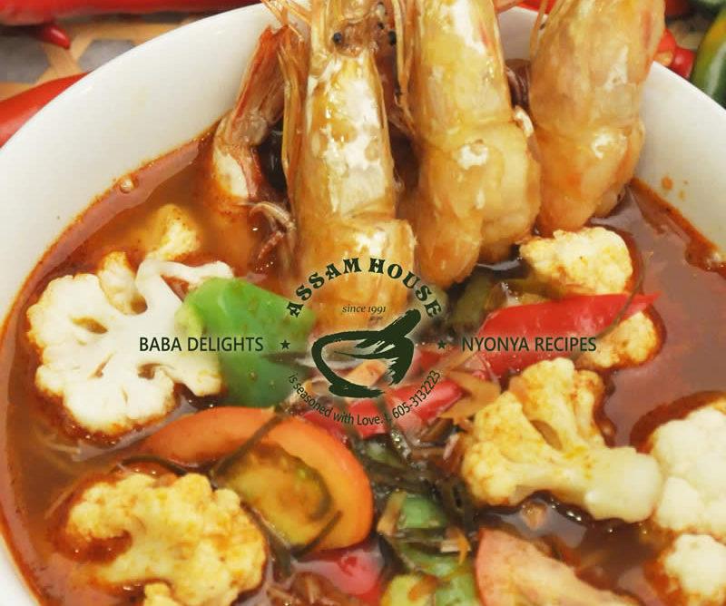 Tom Yam Crystal Prawn Noodle